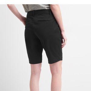 LOFT Ann Taylor black classic Bermuda shorts